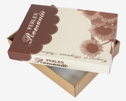 scatole con coperchio superiore cartotecnica duedi